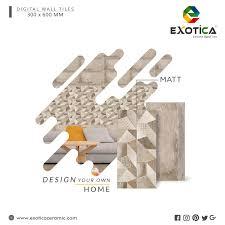 Design Your Own Tiles Design Your Own Home Matt Digitalwalltiles 300x600mm