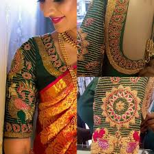 Bridal Blouse Designs Photos 6 Beautiful Bride Blouse Design By Sohum Creations South