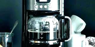 cup coffee maker architect cocoa silver reviews kitchenaid clean cleaning needed programmable white replacement carafe