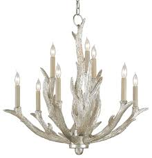 Currey & pany Haywood Chandelier Rustic Chandeliers by