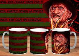 Partecipano ceramisti, pittori e decoratori su porcellana, ceramica,. Taza Freddy Krueger De Ceramica Mercado Libre