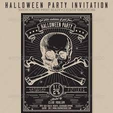 45+ Best Halloween Psd Party Flyer Templates 2016