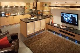 interior design open plan kitchen diners