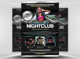 Club Flyer Templates Free Night Club Flyers Templates Major Magdalene Project Org