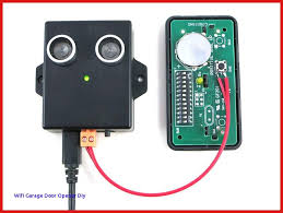 alternatively you can take apart an existing garage door remote solder two wires to the on