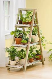 Amazon.com : Wooden A-Frame Plant Stand : Patio, Lawn & Garden