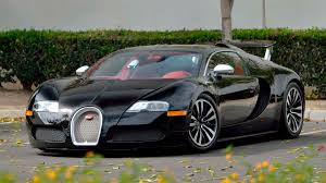 Their customer customization is incredible. 2010 Bugatti Veyron Sang Noir S105 Monterey 2018