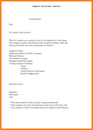 Business Letter Sample Format Company Name Best Of Experience