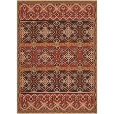 safavieh veranda red indoor outdoor rug 8 x