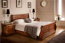 ... Louie Dark - Double Bed Frame