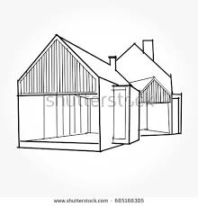modern home architecture sketches.  Modern Sketch Of Modern House Architecture Drawing Free Hand  Inside Modern Home Architecture Sketches S