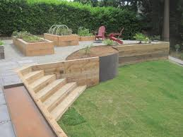 Small Picture Landscape Timber Retaining Wall Design Landscape Timber