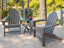 recycled plastic adirondack chairs. Full Size Of Chair Recycled Adirondack Chairs Materials L Polywood Costco Plastic I Poly Lumber Deck