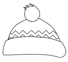 Small Picture Awesome and also Beautiful Winter Hat Coloring Page intended to