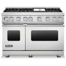 viking gas range. Viking Professional 7 Series 48-Inch 6-Burner Natural Gas Range With Griddle - Stainless Steel VGR7486GSS : ShoppersChoice.com