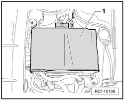 volkswagen workshop manuals > polo mk4 > vehicle electrics r27 10108