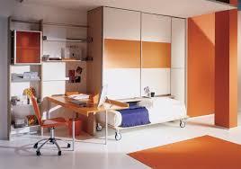 Orange Bedrooms Orange Bedroom Simple Boy Themed Bedrooms With Single Denim Bed