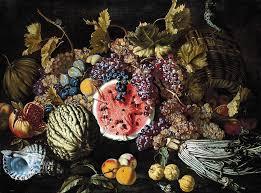 giovan battista ruoppolo still life of fruit 17th century