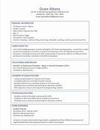 Career Objective For Resume For Fresher Fresh Resume Format For