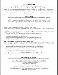 Resume Sample Project Manager Best Project Manager Resume Sample ...