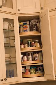 Kitchen Lazy Susan Cabinet A Corner Wall Cabinet Is An Ideal Location For A Stack Of