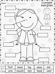 Label Body Parts Worksheet for Grade 1 | Homeshealth.info