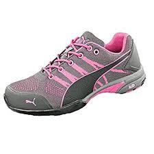 puma pink shoes. puma ladies safety shoes - cele knit s1 hro src, pink/black: amazon.co.uk: \u0026 bags pink h