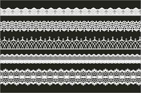 ガーリーやゴシック系のデザインに使える1500種類以上のレース素材が