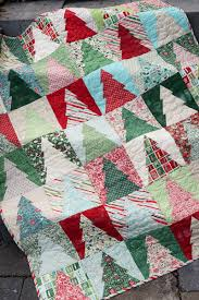 Christmas Tree Quilt Blocks | Blossom Heart Quilts & The Cloth Parcel - Woodland Wander Quilt Small by Audrey Mann Adamdwight.com