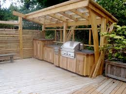Simple Outdoor Kitchen Plans Cheap Outdoor Kitchen Ideas Design With Cabinets Pictures Building