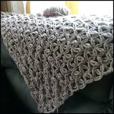 Chunky Yarn Crochet Patterns Beauteous Chunky Yarn Blanket Pattern This Chunky Wool Baby Blanket Crochet