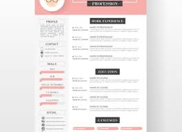 Cool Resumes Adorable Cool Resumes Templates Graphic Designer Resume Template Free