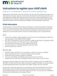 birth record fillable pdf