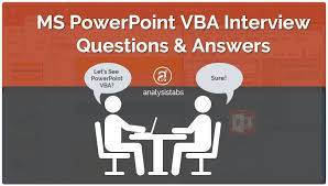 Ms Powerpoint Examples Ms Powerpoint Vba Interview Questions And Answers With