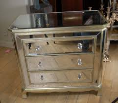 art deco mirrored furniture. mirror art deco chest drawers cabinet commode mirrored furniture