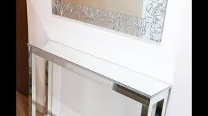 diy mirrored console table diy room decor ideas