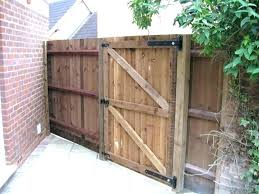 garden fences and gates yard fence for absolutely smart fencing uk s