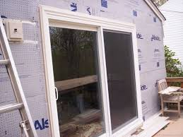 photo gallery for sliding glass door installation