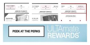 Ulta Point System Chart Rewards System Explanation And Comparison Sephora Vs Ulta