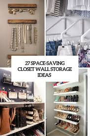 space saving closet wall storage ideas cover