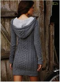 Tulle And Crochet Long Dress Knitted Dove Dress Hooded