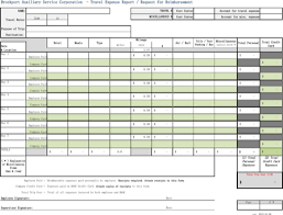 Free Travel Expense Report Template Download Expense Report Template For Free Formtemplate
