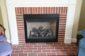 building a brick fireplace surround laying brick fireplace surround