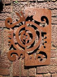 >metal garden wall sculpture for yard home by chavenellestudio  metal garden wall sculpture for yard home by chavenellestudio