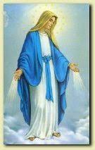 Znalezione obrazy dla zapytania niepokalana matka kościoła medalik