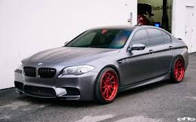 BMW 5 Series bmw m5 f10 price : Frozen Gray BMW F10 M5 With ADV.1 Wheels - ADV.1 Wheels