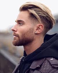 Photo Coiffure Homme Avec Mèche Blonde Coiffure Cheveux Long