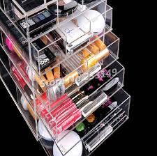 inspiring large makeup organizer with drawers 87 additional