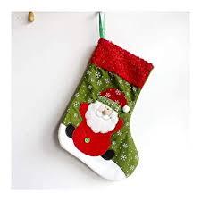 Doupj Weihnachtsscharlachrote Socken Christbaumschmuck