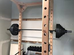 xjjdt5uyroi01 15 barbell rack diy